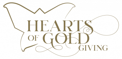 Hearts of Gold Giving logo
